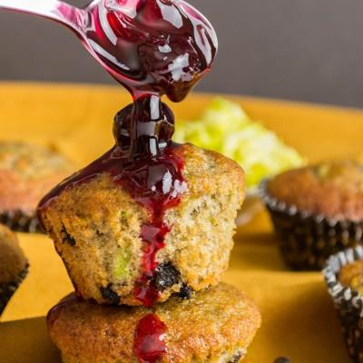 Cherry Zucchini Muffins