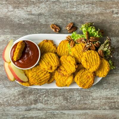 Gluten Free Vegetarian Nuggets
