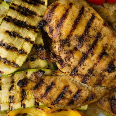 Marinated Chicken Breast with Caramelized Onion