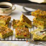 Moist Pumpkin Bread with Greens